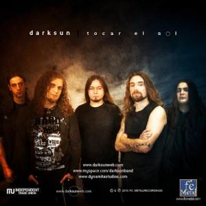 DarkSun - Tocar el Sol - Foto interior libreto