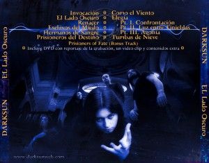 Darksun - El Lado Oscuro - Inlay