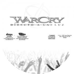 WarCry - Directo a la Luz -Galleta CD