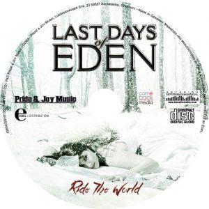 Las-Days of Eden - Ride the World - Galleta