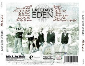 Las-Days of Eden - Ride the World - Inlay