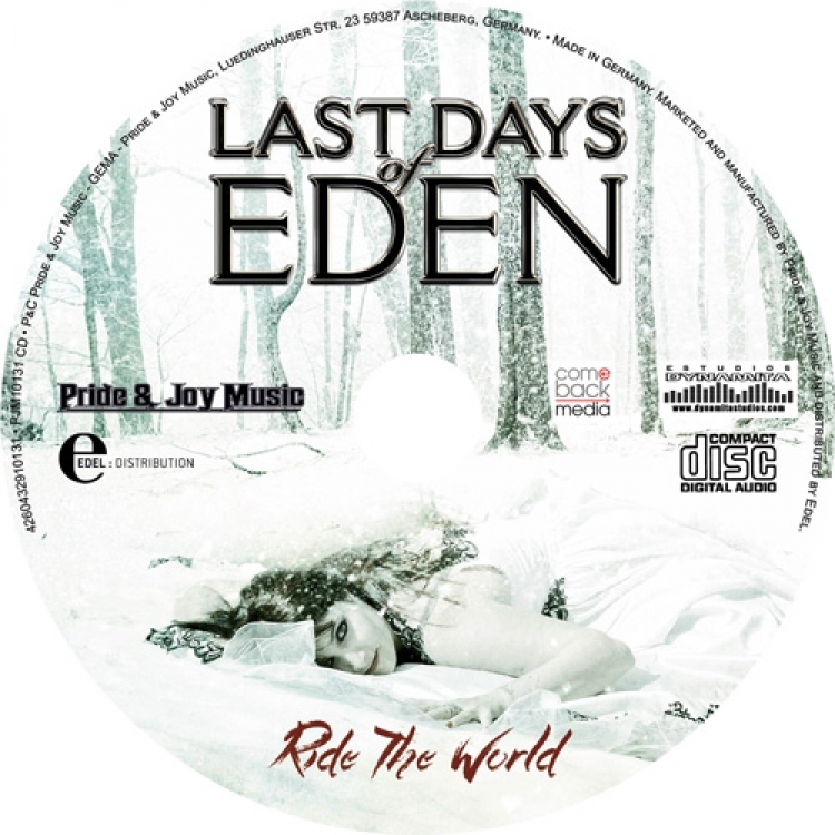 Las-Days of Eden - Ride the World - Galleta