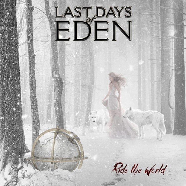 Las-Days of Eden - Ride the World - Portada